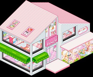 pink, pixel, and kawaii image