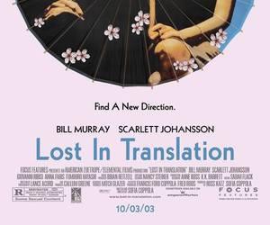 bill murray, lost in translation, and Scarlett Johansson image