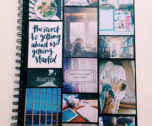 inspiration and notebook image