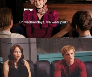 effie, katniss, and hunger games image