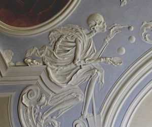art and skeleton image