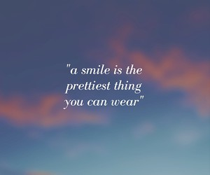 pretty, quotes, and smile image