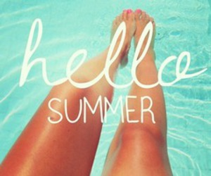 summer, hello, and legs image