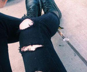 grunge, black, and hipster image