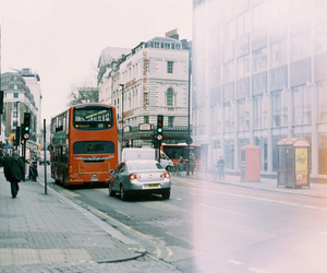 bus, photography, and london image