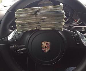 car, money, and luxury image