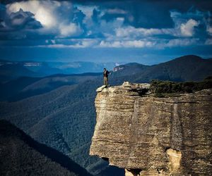mountains, australia, and nature image