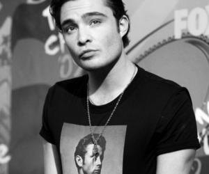 ed westwick, chuck bass, and gossip girl image