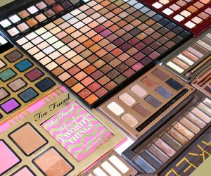 makeup, fashion, and eyeshadow image