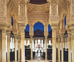spain, architecture, and mosque image