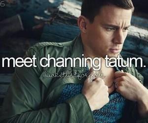 love, channing tatum, and bucket list image
