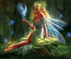 fairy, fantasy, and art image