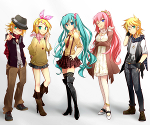 vocaloid, anime, and miku image