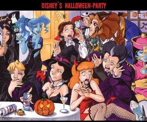 disney, Halloween, and princess image