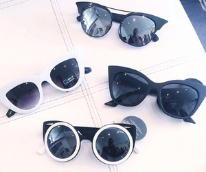 sunglasses, summer, and fashion image