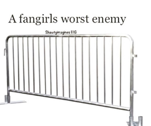 fangirl, enemy, and fangirls image