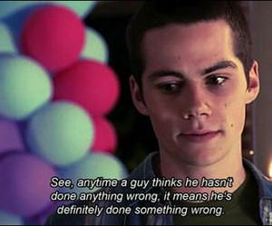 teen wolf, quote, and dylan o'brien image