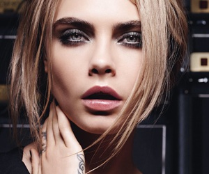 model, cara delevingne, and beauty image