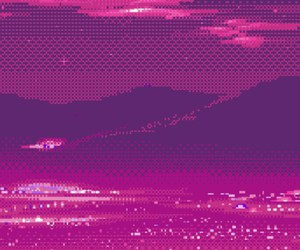 pink, pixel, and aesthetic image