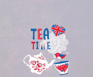tea and wallpaper image