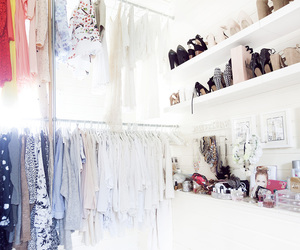 closet, jewelry, and shoes image
