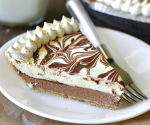 food, pie, and chocolate image