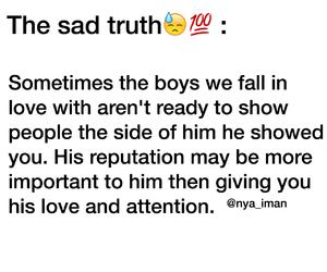 boys, sad truth, and love image