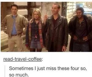 captain jack harkness, Mickey Smith, and rose tyler image