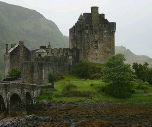 castle, witch, and enchanted image