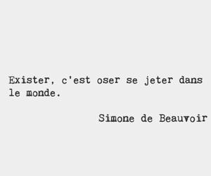 france, literature, and simone de beauvoir image