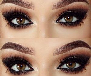fashion, eyes, and makeup image