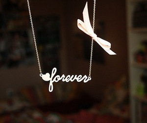 forever, necklace, and bow image