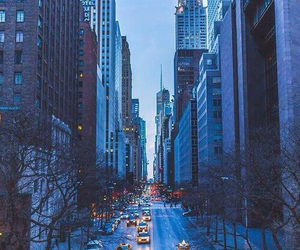 cold, new york city, and taxis image