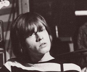 rolling stones, black & white, and Brian Jones image