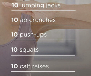 workout, body, and fitness image