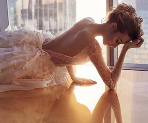 beauty, bridal, and wedding image