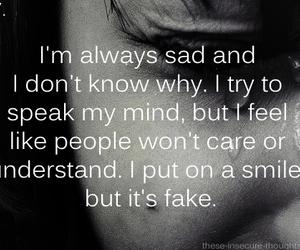 sad and depressed image