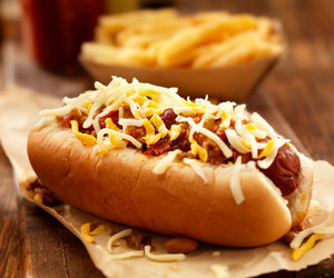 food and hot dog image