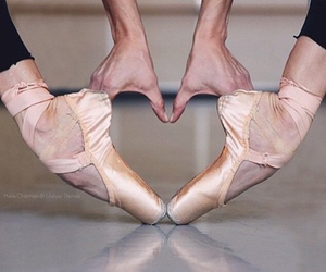 ballerina, love, and ballet image