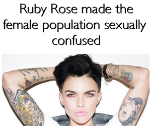 Hot and ruby rose image