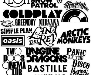 coldplay, bastille, and imagine dragons image