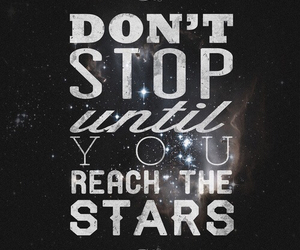 stars, quote, and motivation image