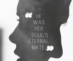 love, quotes, and soul mate image