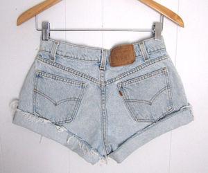 denim, fashion, and shorts image