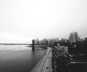 city, bridge, and building image
