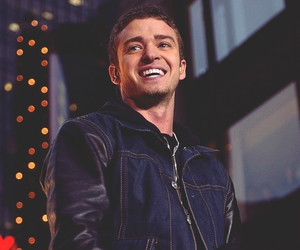 handsome, justin timberlake, and smile image