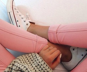 fashion, outfits, and converse image