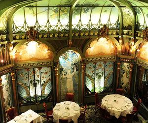 Art Nouveau, paris, and restaurant image