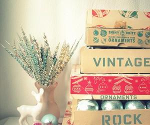 vintage, christmas, and rock image