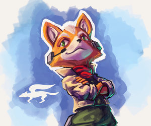super smash brothers, starfox, and fox mccloud image